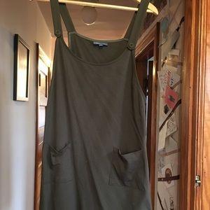 ModCloth Olive Green Jumper- Size L